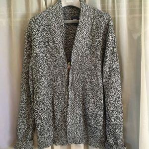 Gap Zippered Cardigan Sweater